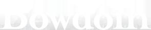 Bowdoin wordmark
