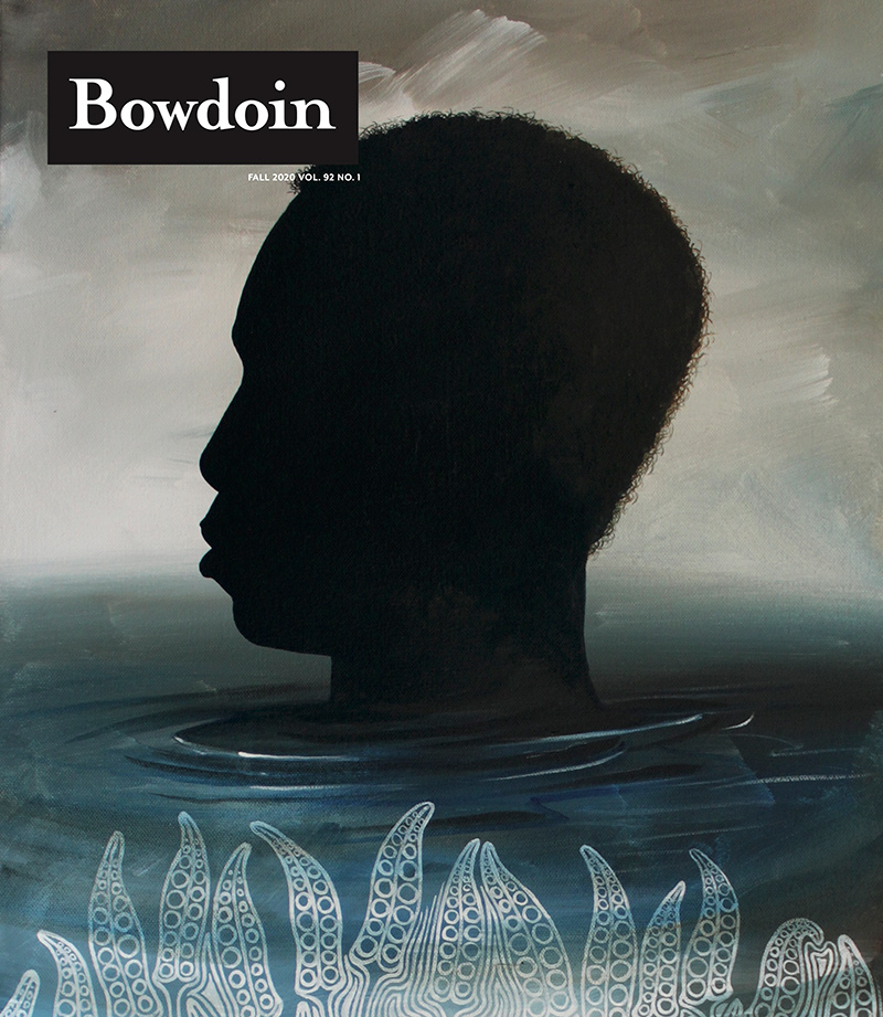 Cover of Fall 2020 Bowdoin Magazine