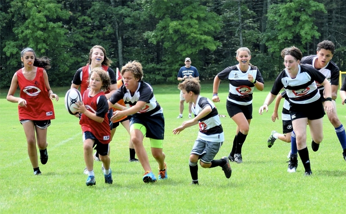 Summer sports camps at Bowdoin