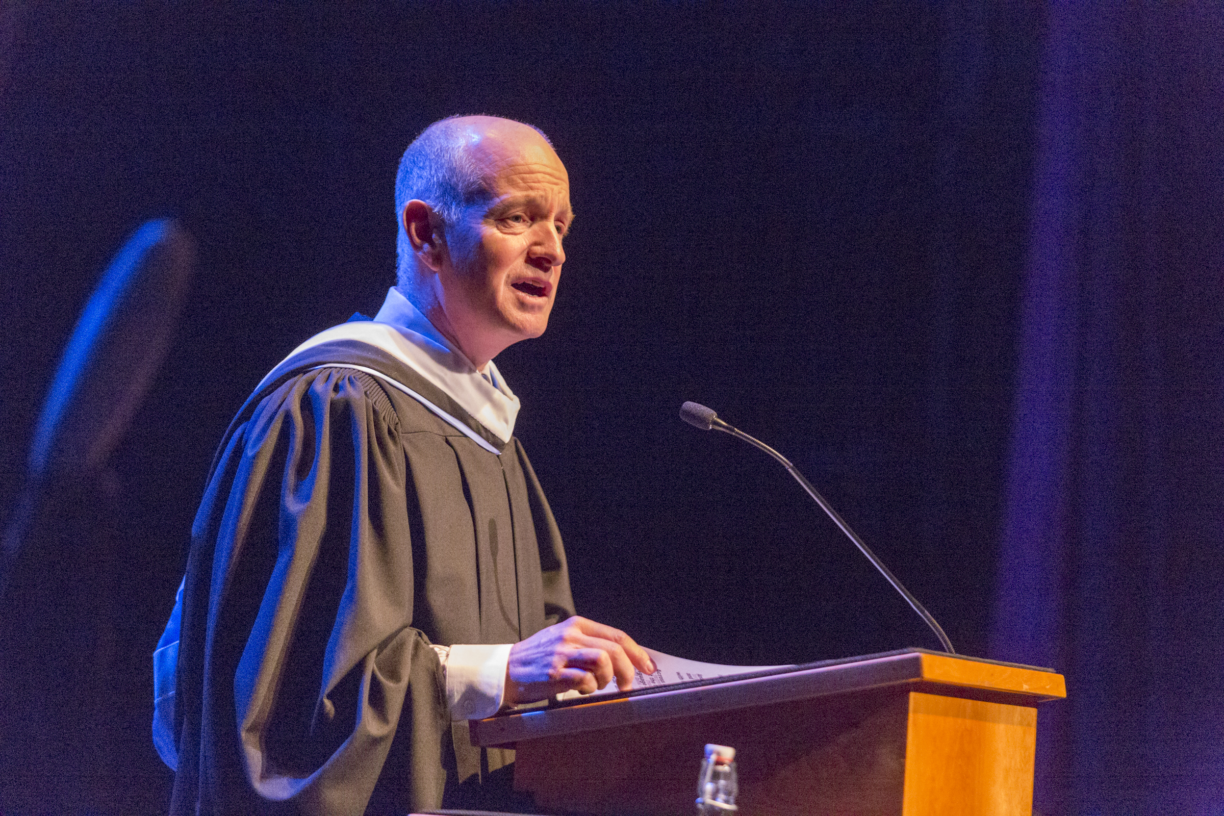 "Dean Timothy Foster delivers ""Voices from the Past "" address"
