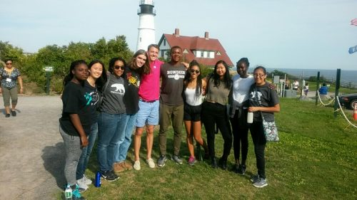 McKeen Center's immigrant and refugee community engagement orientation trip