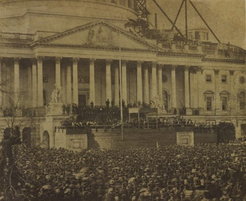 The First Inaugural of Abraham Lincoln