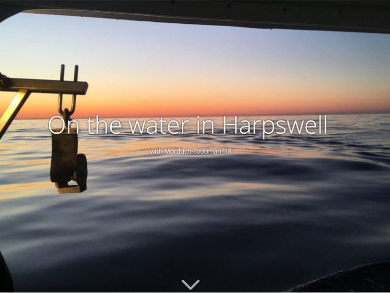 Harpswell water