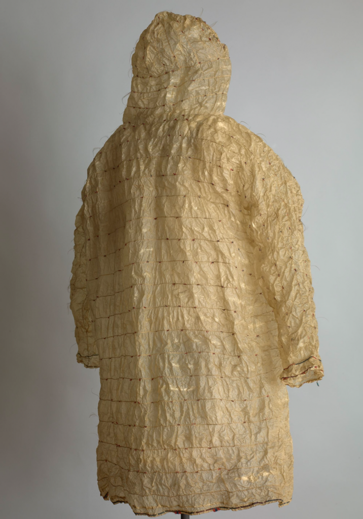 Raincoat made of seal intestines