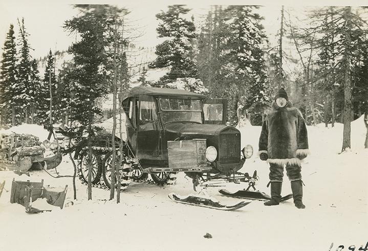 labrador's first snowmobile