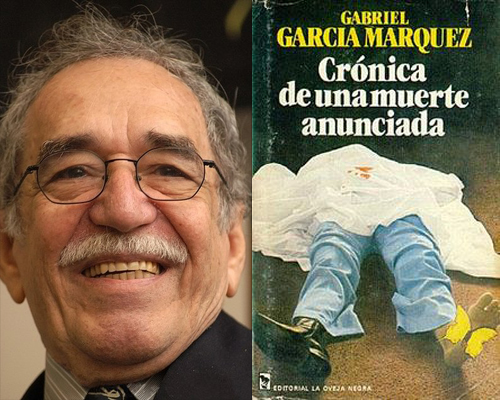 Gabriel García Márquez and a Spanish language edition of Chronicle of a Death Foretold