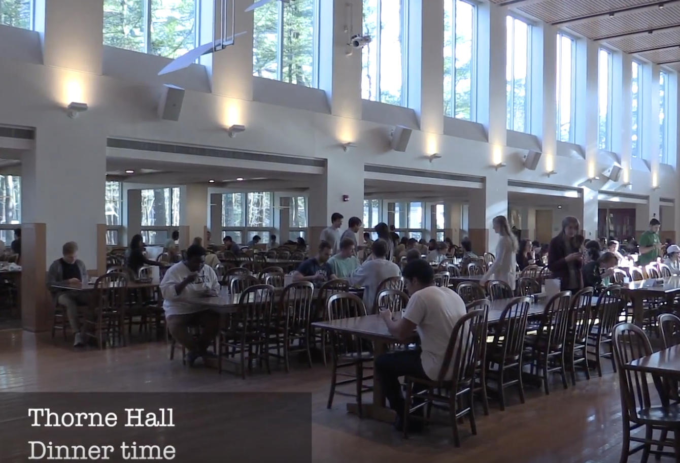 Thorne dining hall