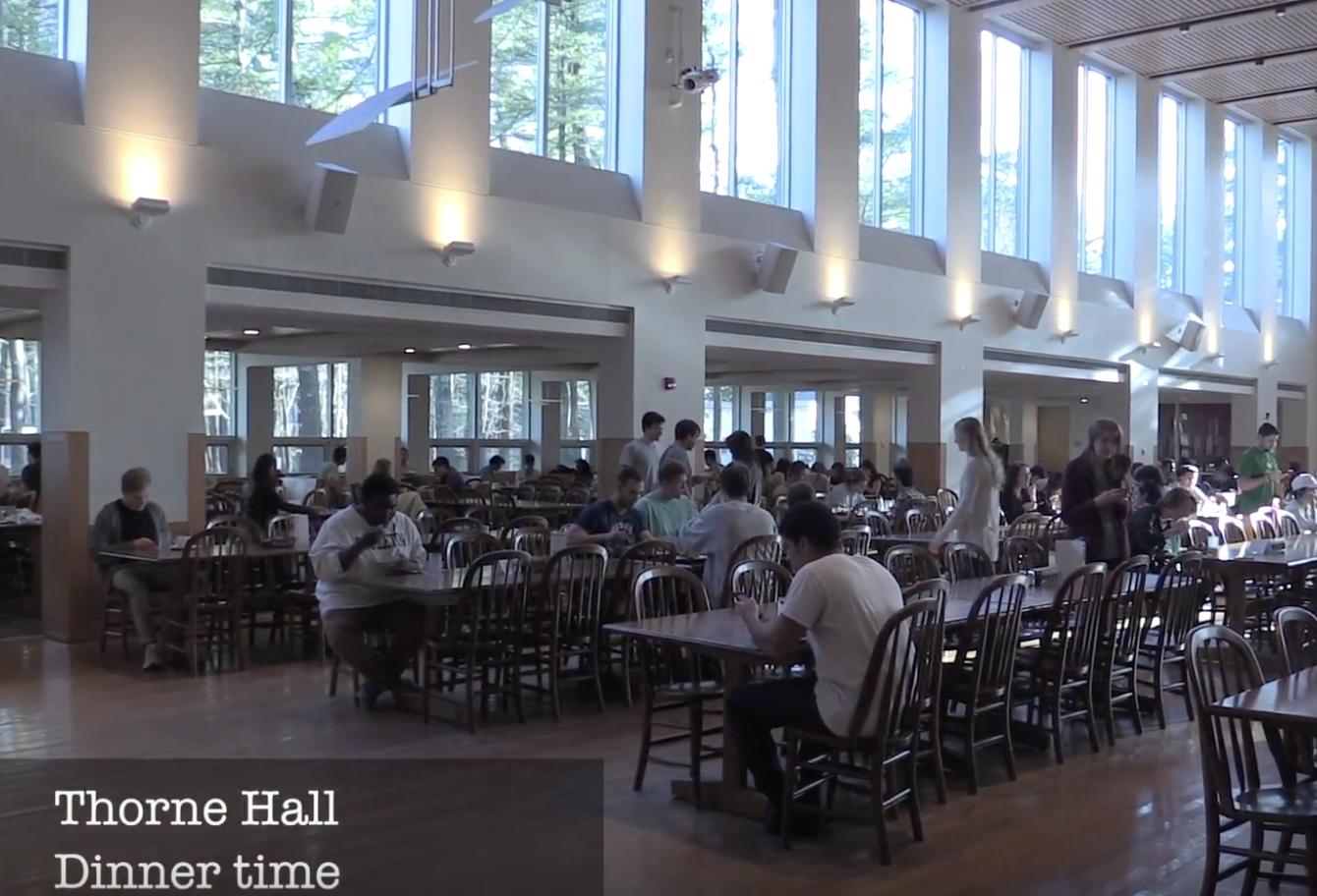 Thorne dining hall
