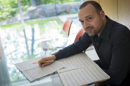 Derek Bermal, Artistic Director of the American Composers Orchestra at Carnegie Hall. Photo: Richard Bowditch