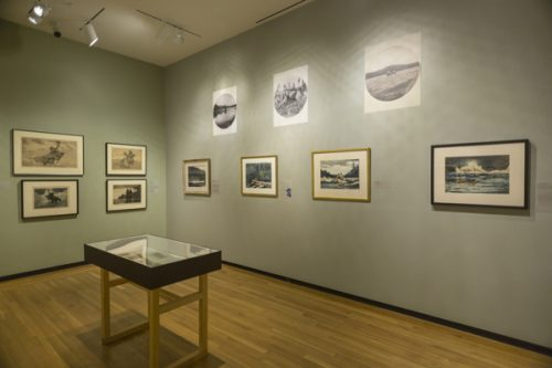 "Installation view of ""Winslow Homer and the Camera"""