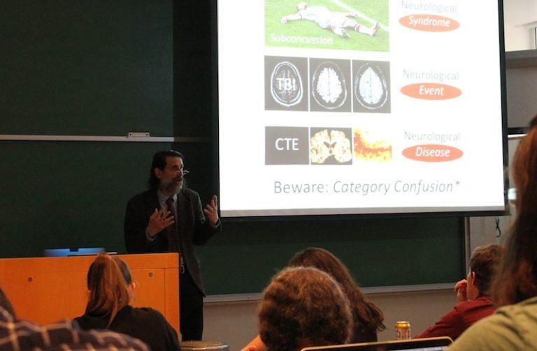 Lee Goldstein presenting
