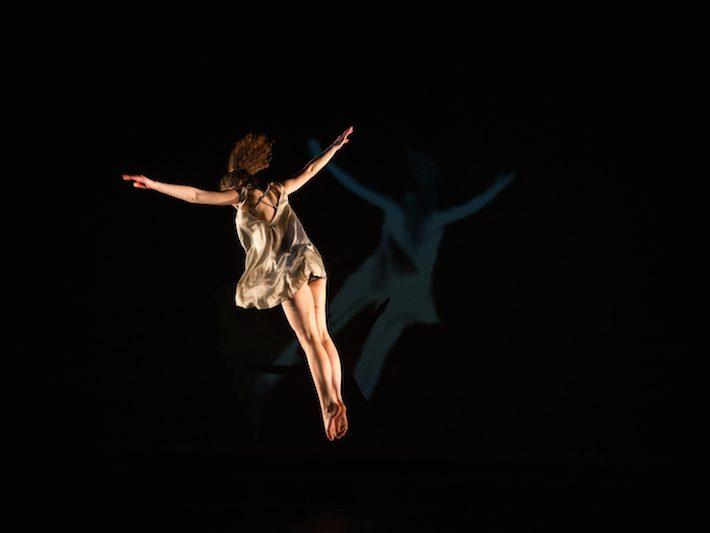 Lucia Gagliardone dancing