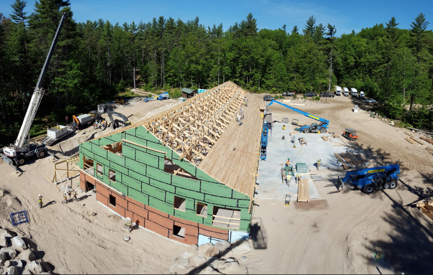 Construction in Maine