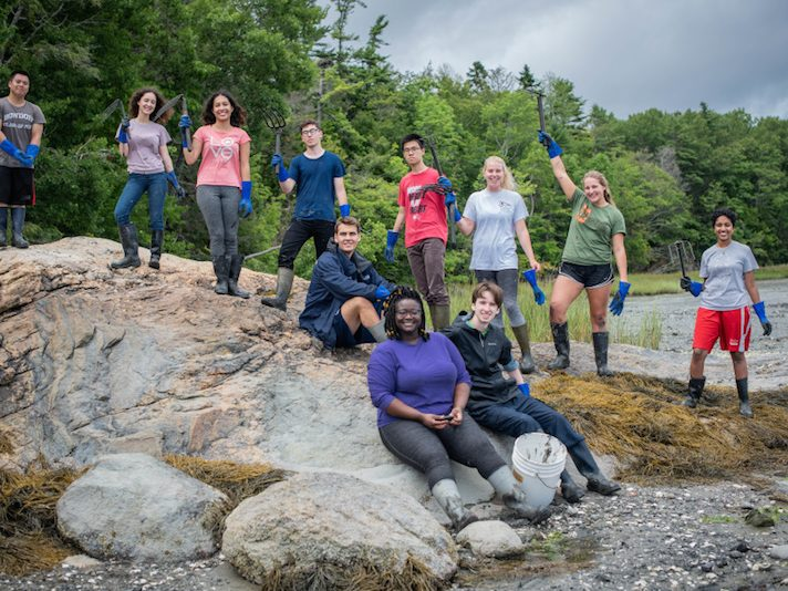 Bowdoin College Orientation Trips to Baxter State Park and Swan Island