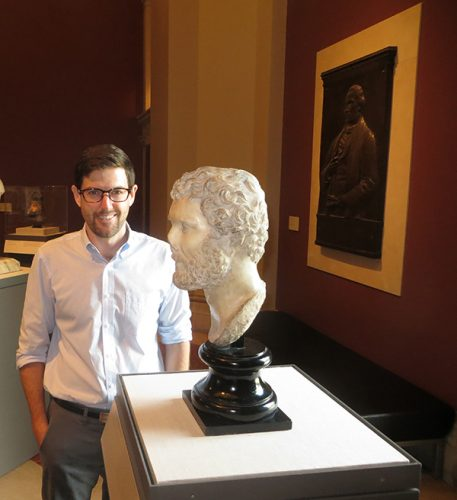 Sean P. Burrus, Andrew W. Mellon Post-Doctoral Curatorial Fellow at the Bowdoin College Museum of Art