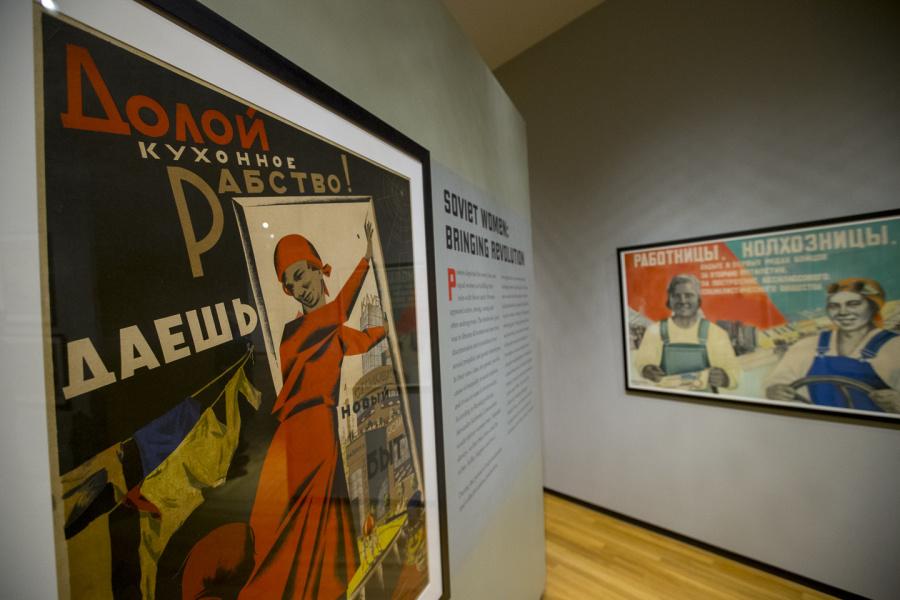 Soviet exhibit