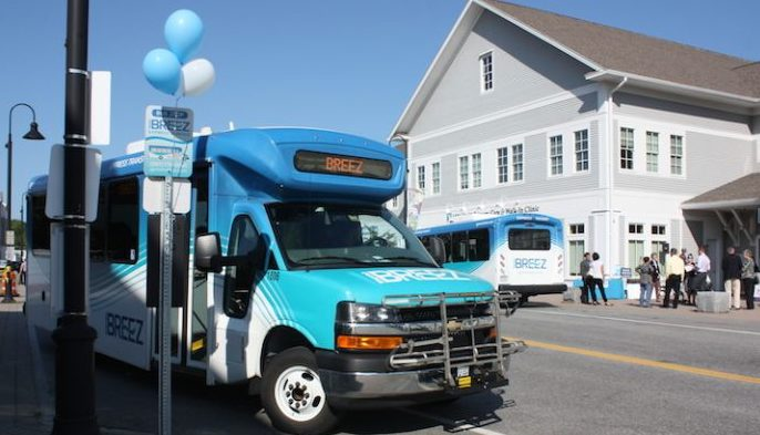 The Metro Breez bus