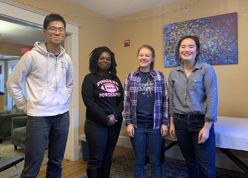 2019 Christian Student Association board members