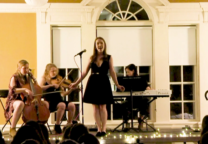 Women's Cabaret performance