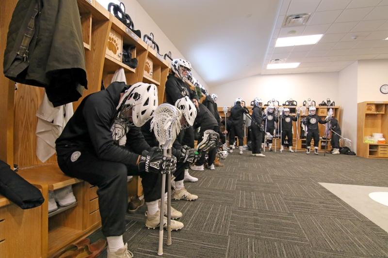 whittier locker room