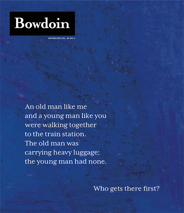 Bowdoin Magazine, Winter 2019