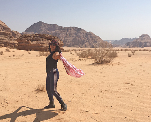 Brenda in Jordan