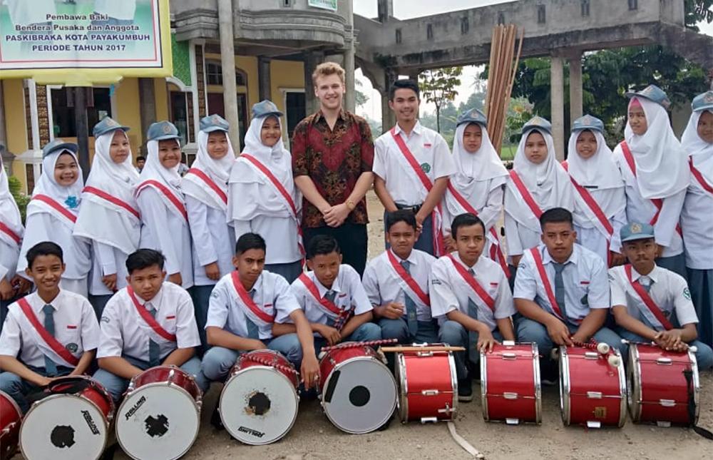 Peter Bensen in Indonesia