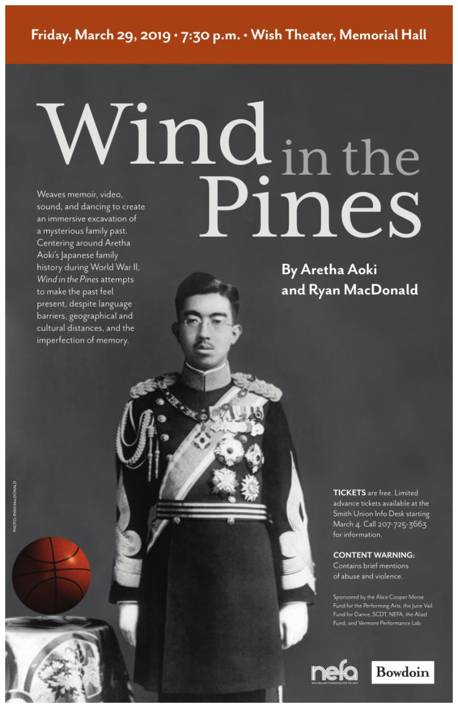 Wind in the Pines poster