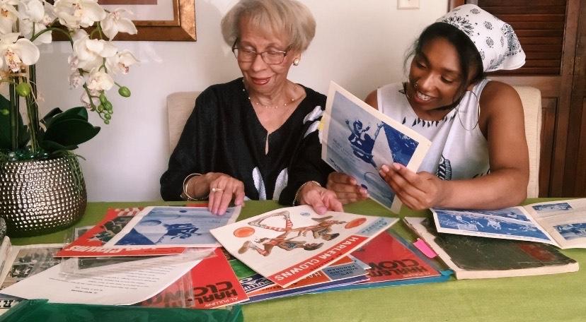 smith with grandma