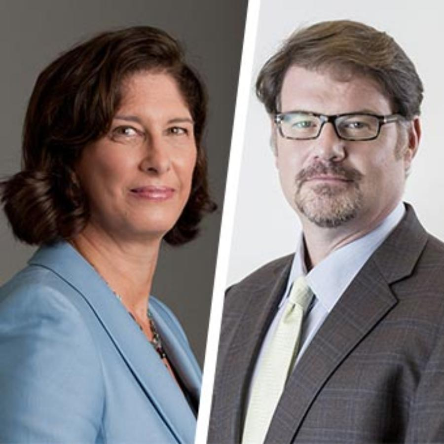Mara Liasson and Jonah Goldberg