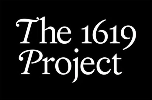 The 1619 Project wordmark
