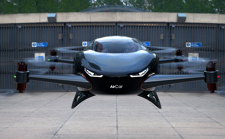 the Air Car, photo courtesy of Air Car Corp