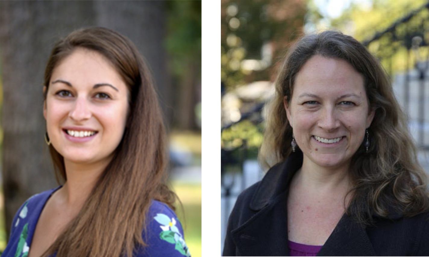 CXD's Associate Director of Skill Development and Programming Bethany Walsh and Executive Director Kristin Brennan