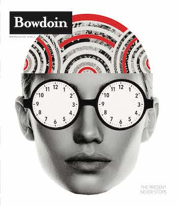 Winter 2021 Bowdoin Magazine cover