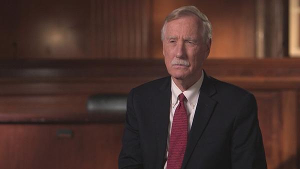 US Senator Angus King (I-Maine)