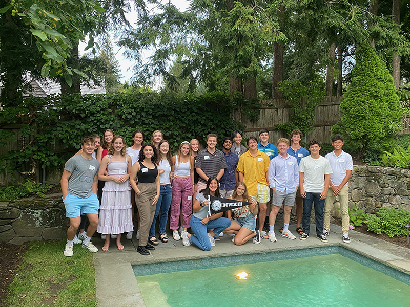 Send-off event in Boston, hosted byWill and Happy Rowe P'23 with George Rowe '23