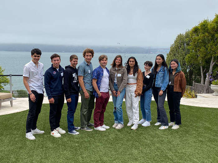 Send-off event in San Francisco, hosted byBen and Stacey Ng P'22 with Griffin Ng '22