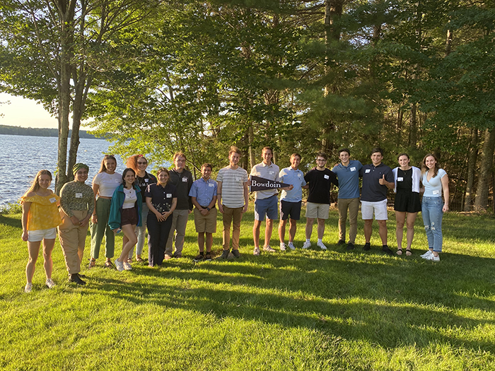 Send-off event in Standish, Maine, hosted byScott and Terri Bashaw P'21 P'23 with Abby Bashaw '21 and Delaney Bashaw '23