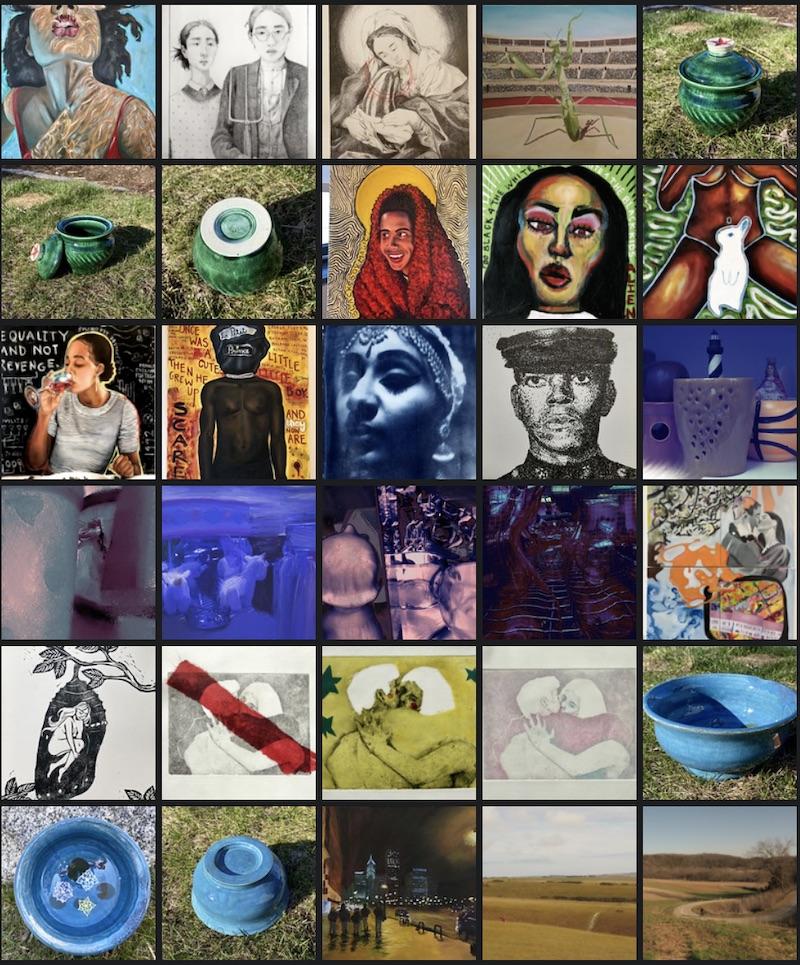 Screenshot of Smugmug gallery