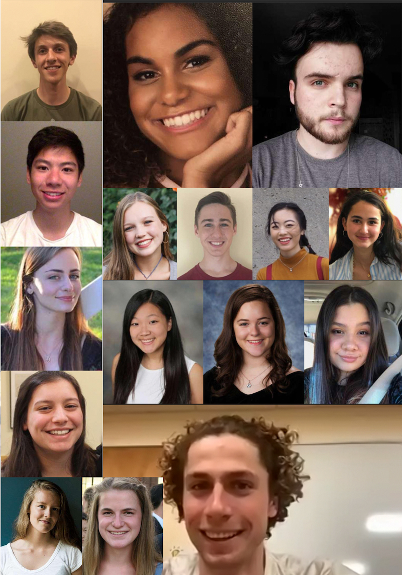Some of the 2021 Surdna fellows
