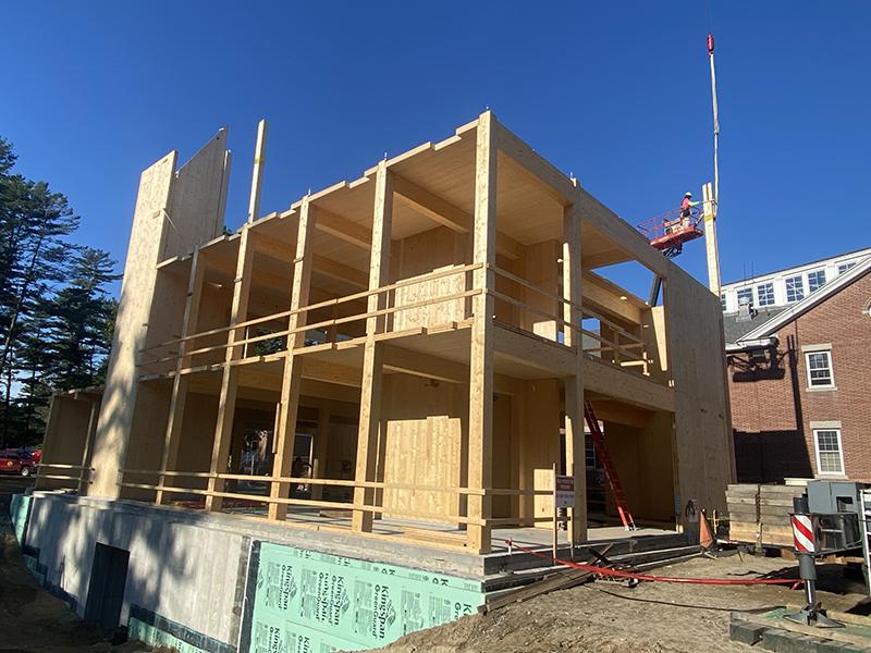Building project exterior shot