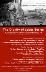 The Dignity of Labor Lecture Series